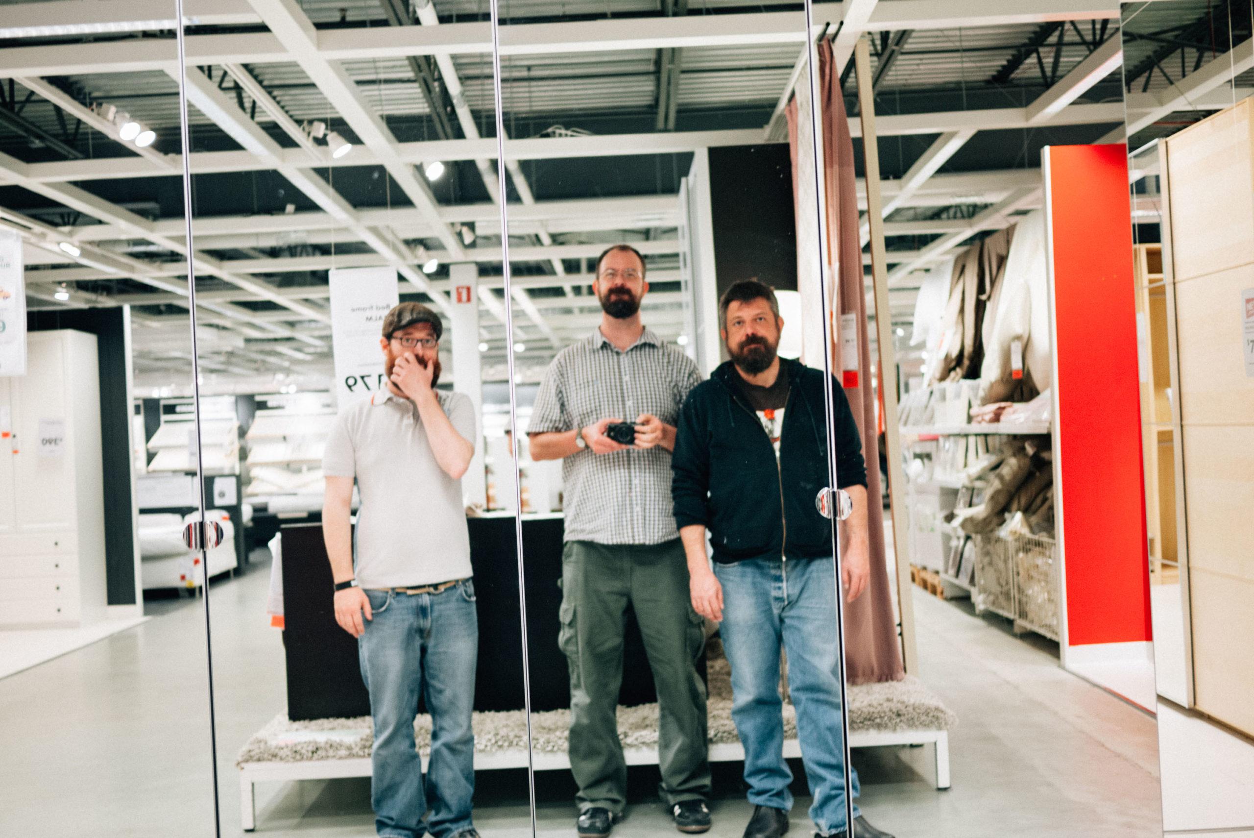 Joel me and Jim at IKEA