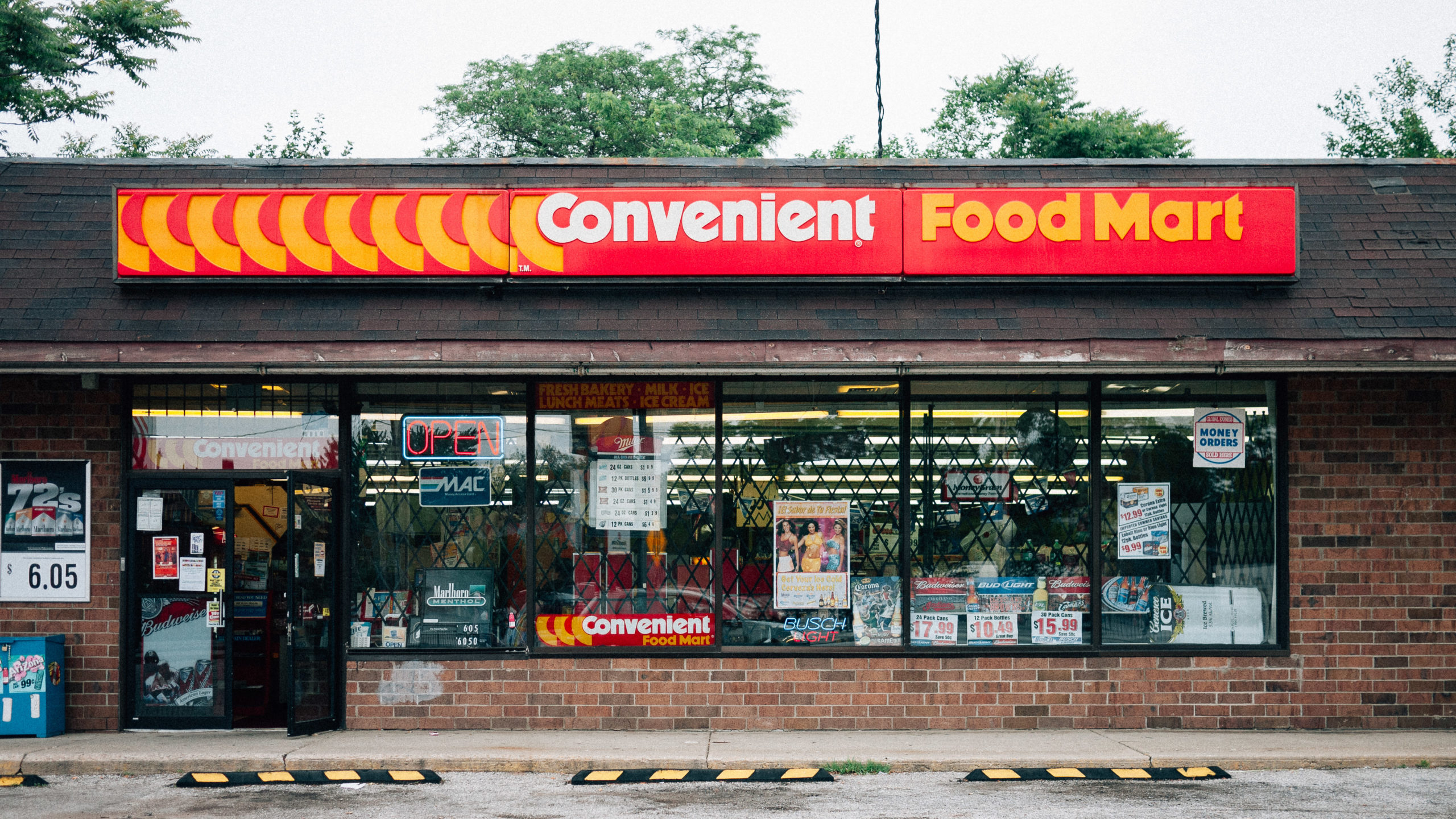 A convenience store in Cleveland Ohio