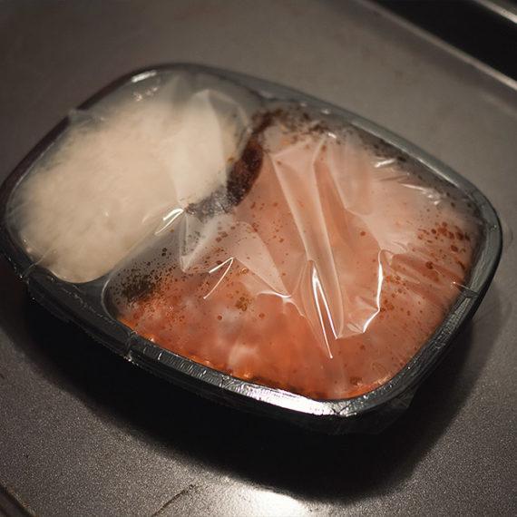 A frozen meal
