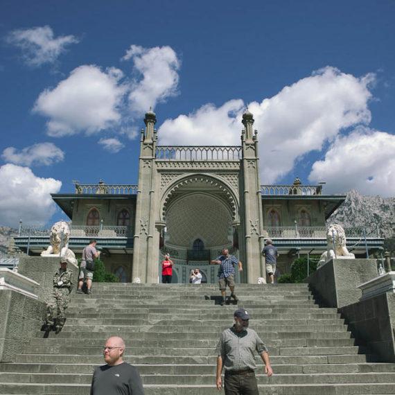 Vorontsov Palace steps