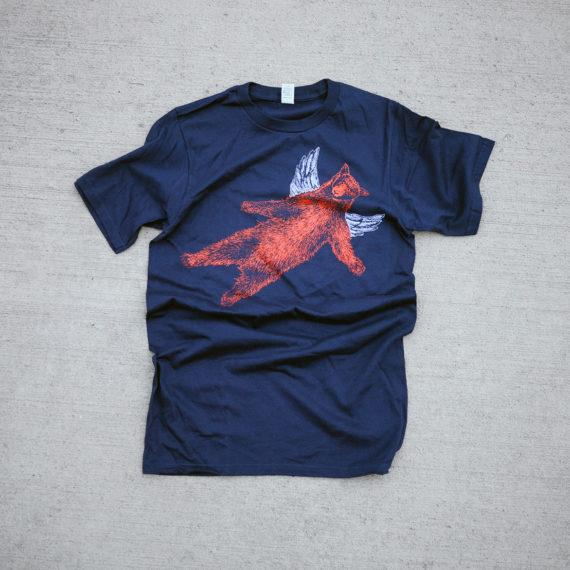 Falling Bear shirt