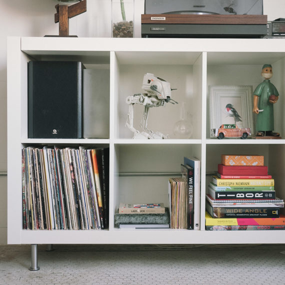 Those IKEA shelves that everyone has