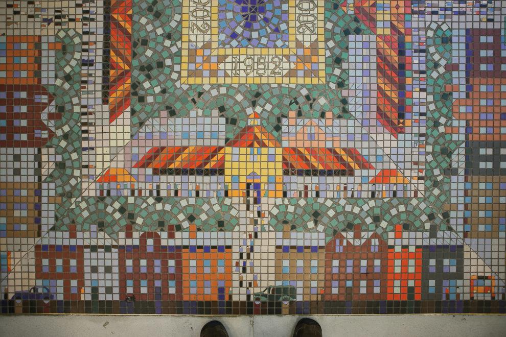 Findlay Market tiles