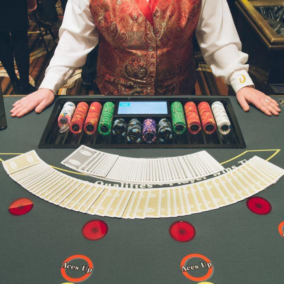 dealer at a casino