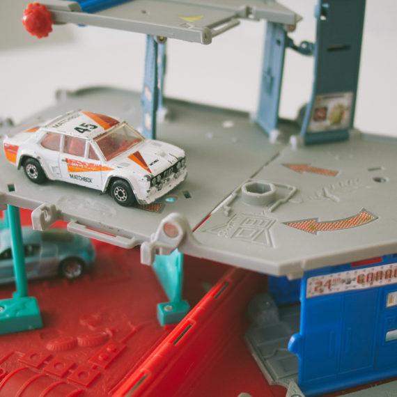 a toy car wash