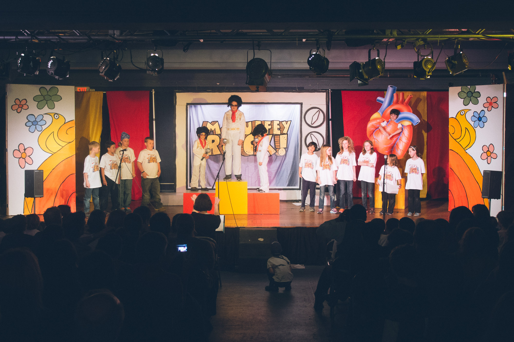 a stage performance of Schoolhouse Rock
