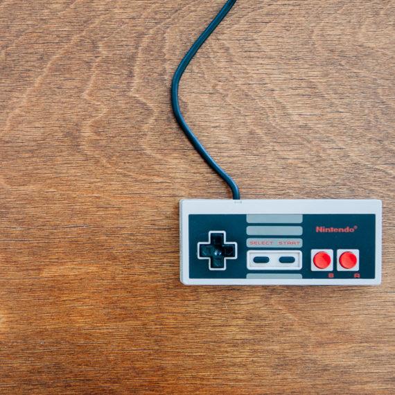 A videogame controller
