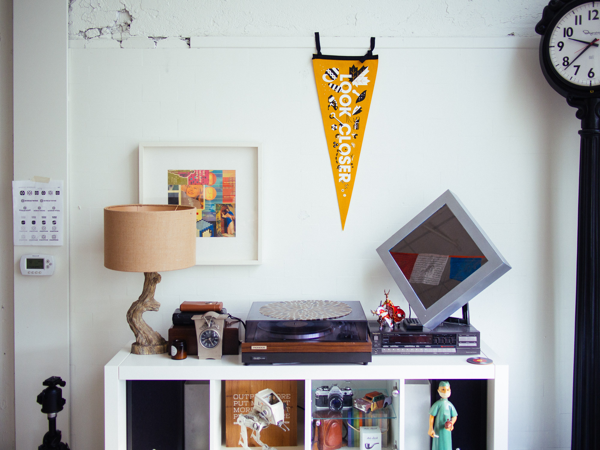 Look Closer pennant by Always with Honor