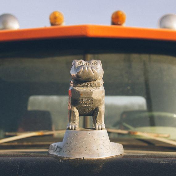 A Mack truck bulldog