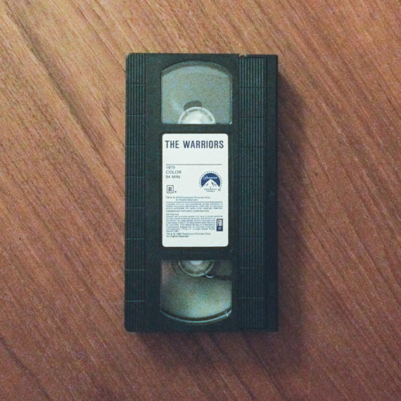 VHS tape of the Warriors movie