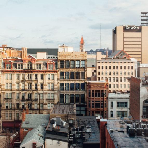 A view of downtown Cincinnati a city