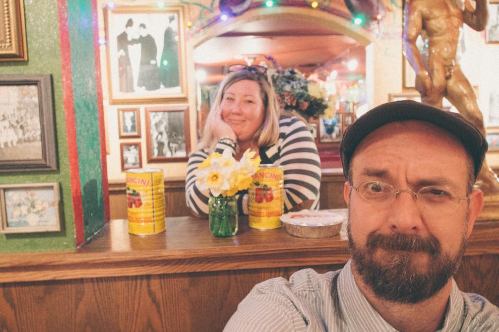 Brown and me, selfie