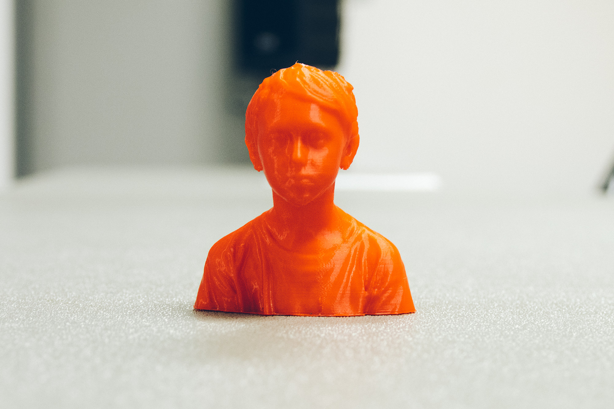 3D portrait of a young person