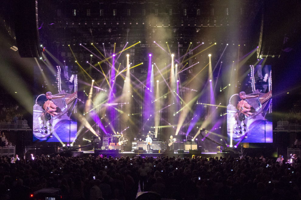 Paul McCartney Louisville lights