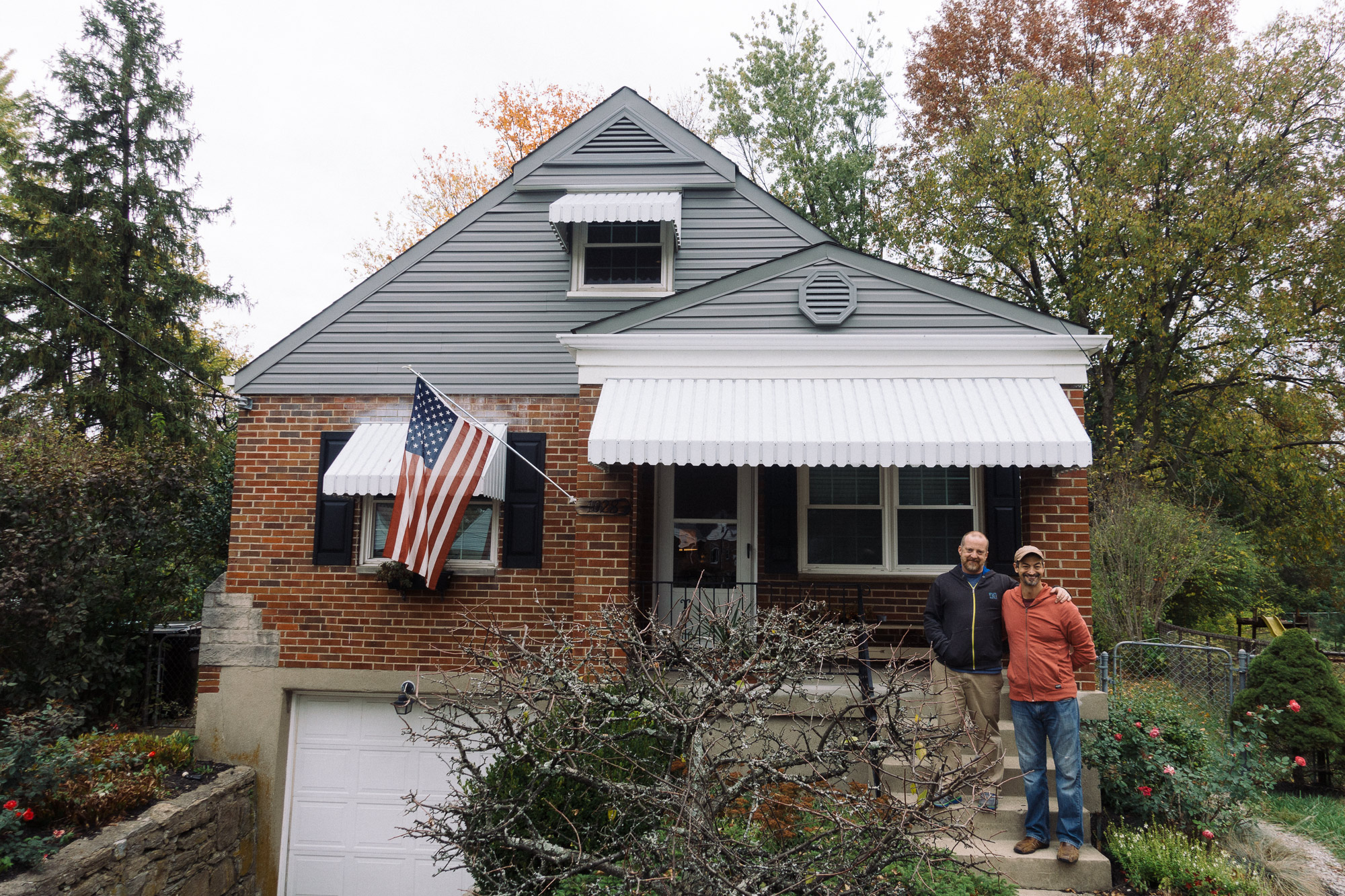 Two men who just bought a house in Ohio