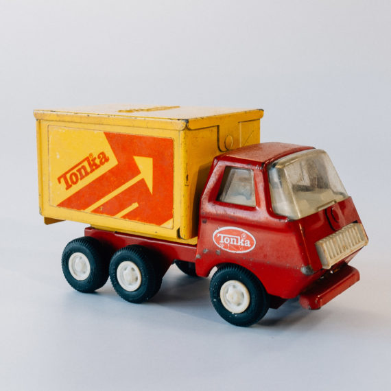 toy metal truck