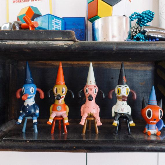 Baseman vinyl toys