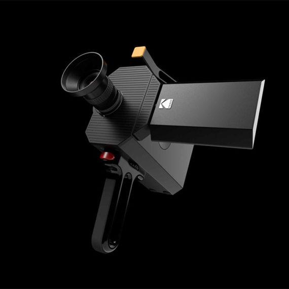 A modern super 8 camera