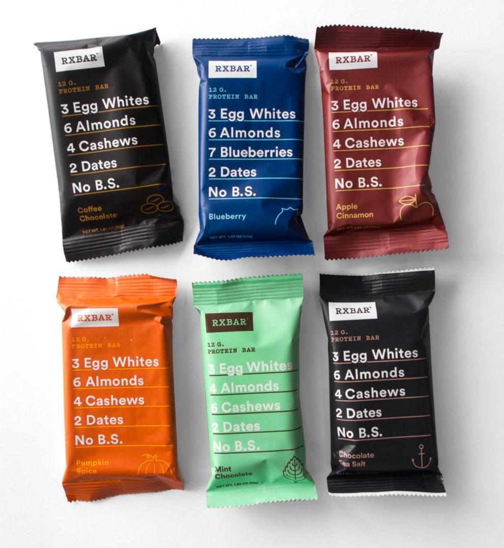 RXBAR flavors