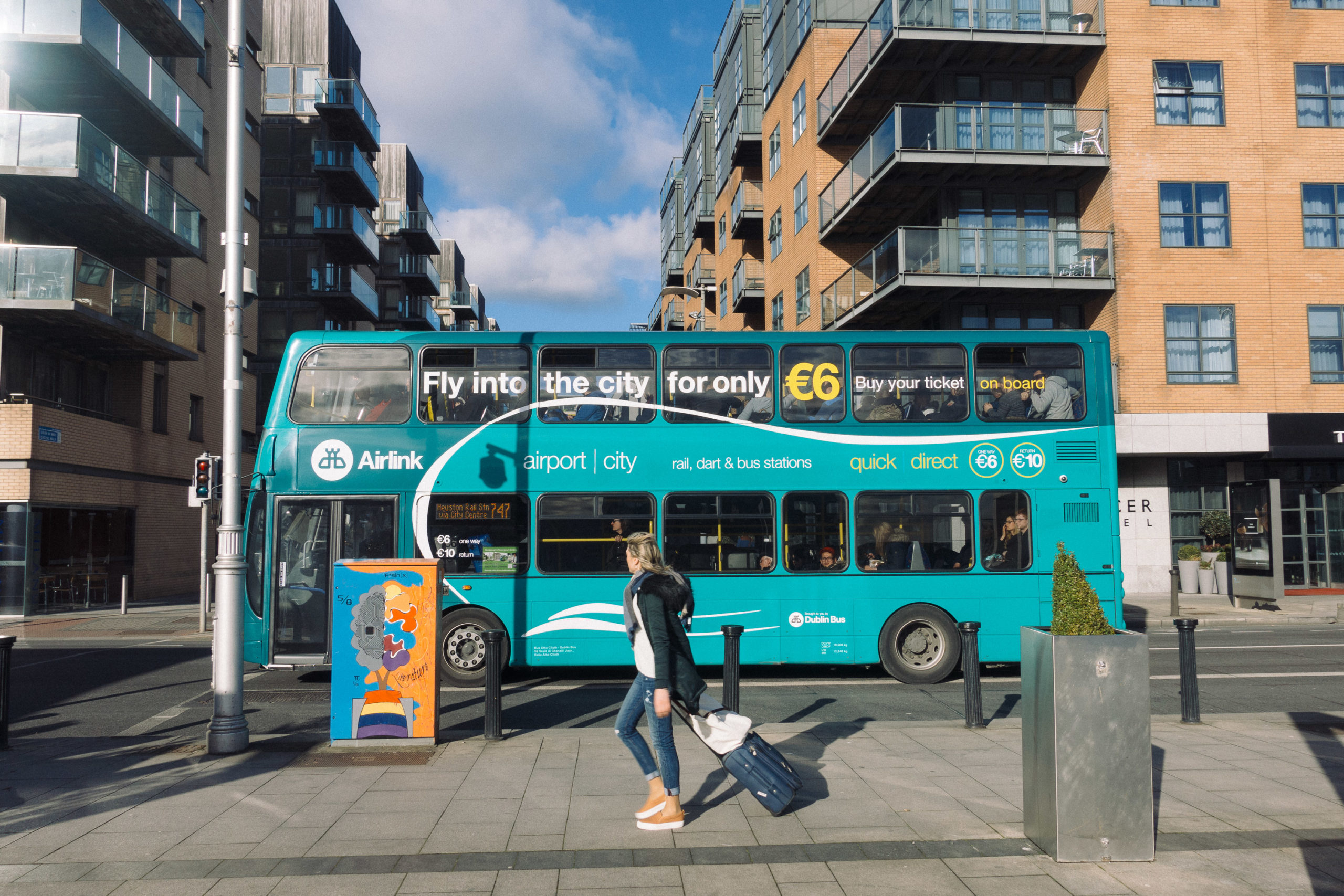 Airlink Bus in Dublin