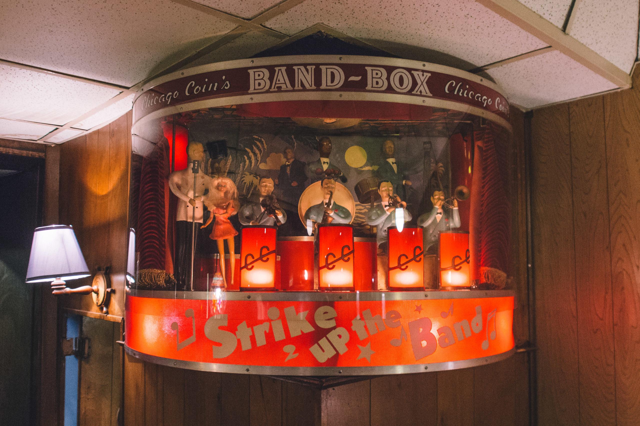Anchor Grill Band Box