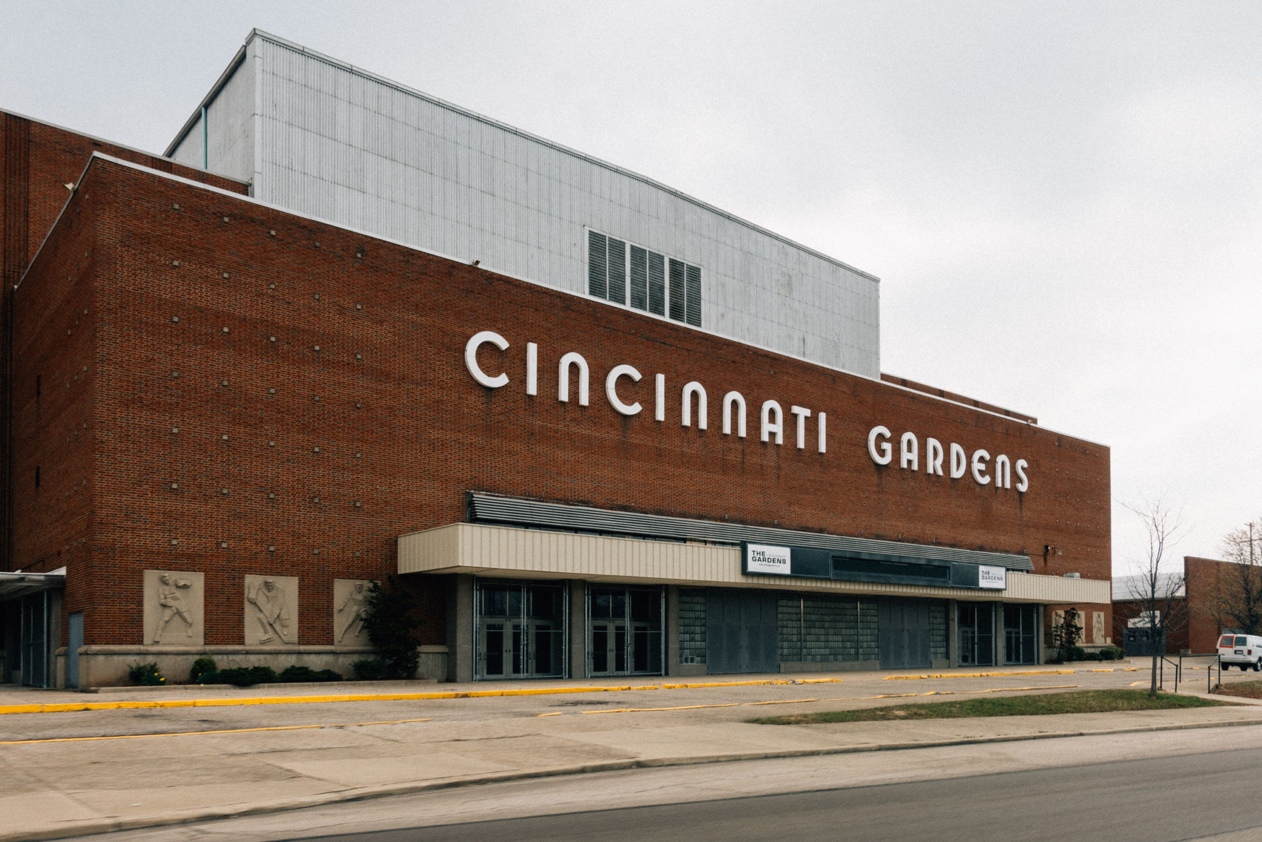 An old arena made of brick