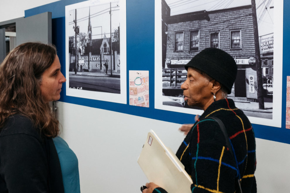 Conversation with Kenyon Barr resident