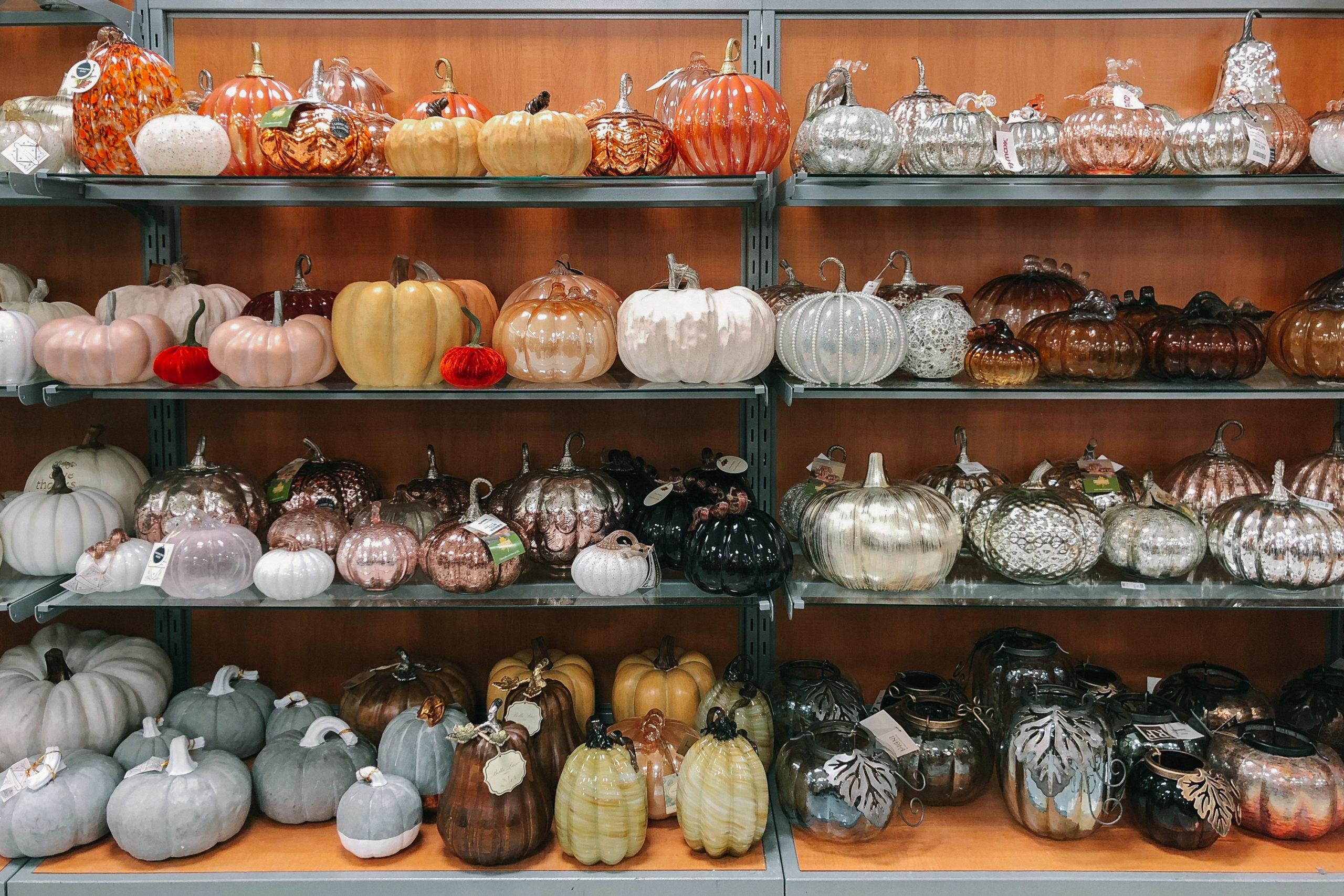 fake decorative pumpkins