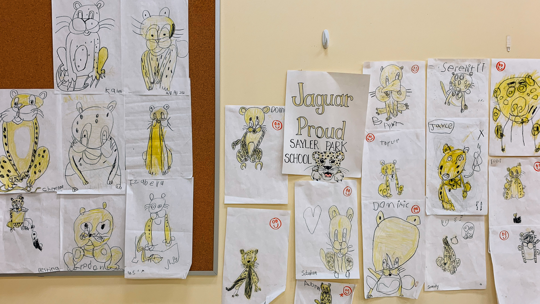 Sayler Park kids drawings
