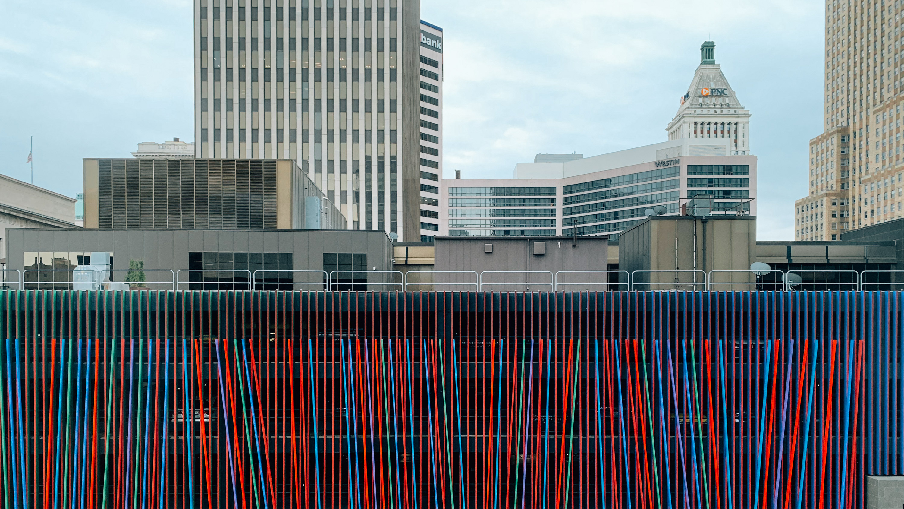 view from the Contemporary Arts Center