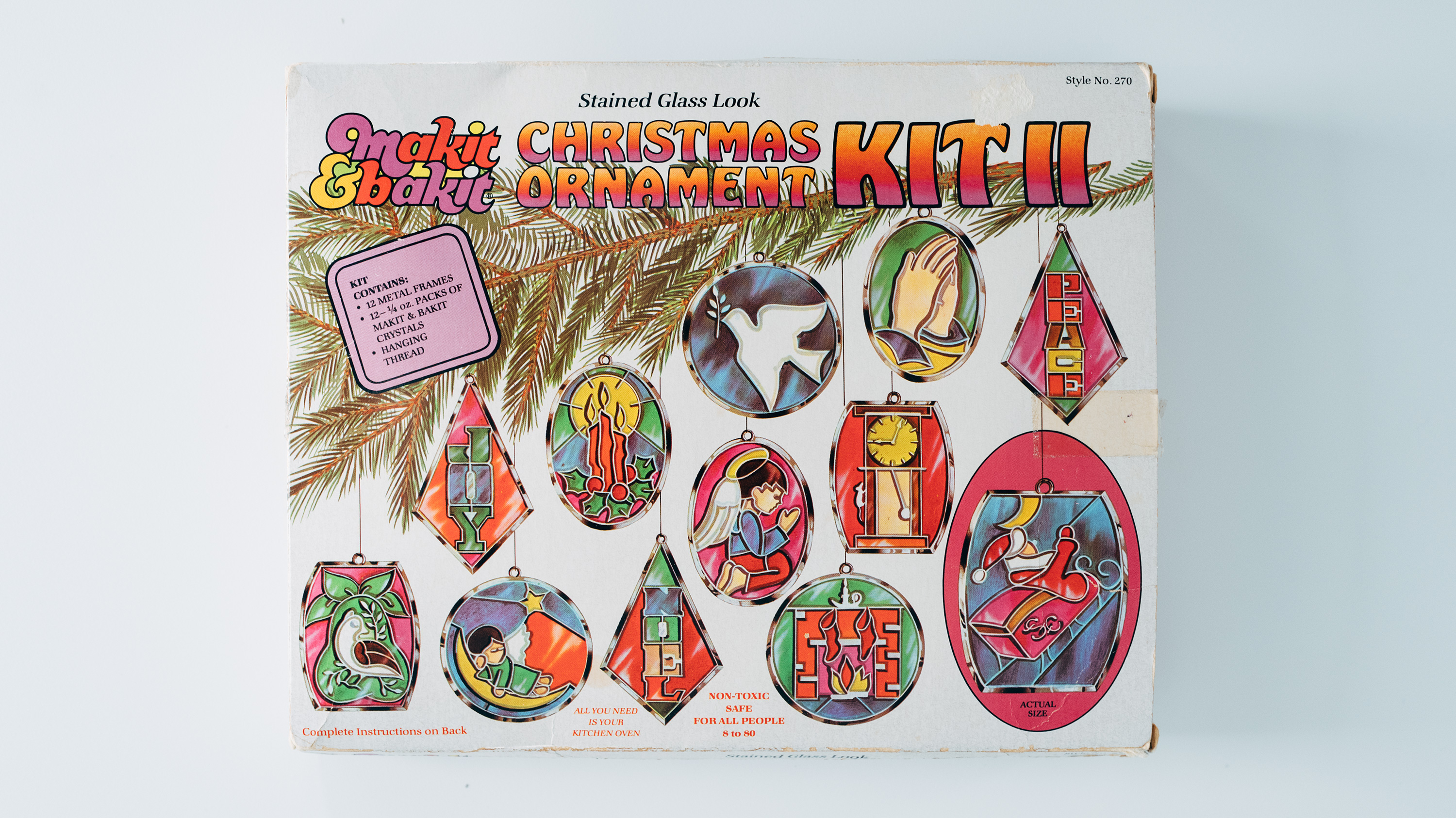 Makit & Bakit Christmas Ornament Kit II