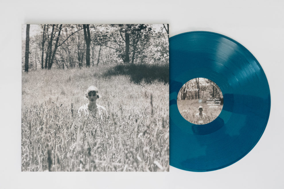 Taylor Swift Folklore vinyl In the Weeds