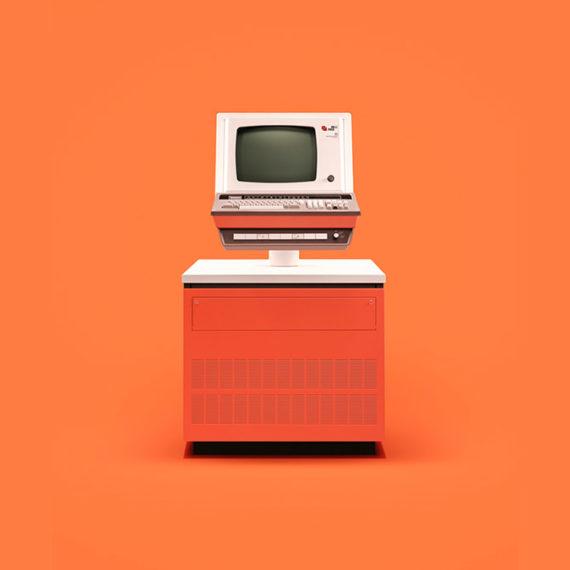 Orange computer
