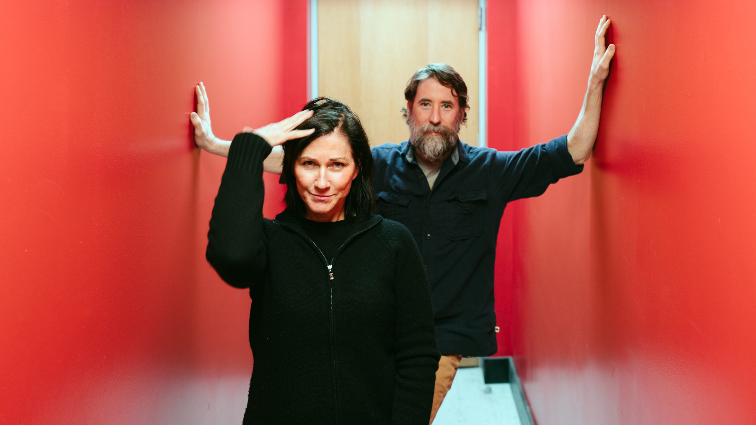 Kelley Deal and Mike Montgomery of R.Ring.