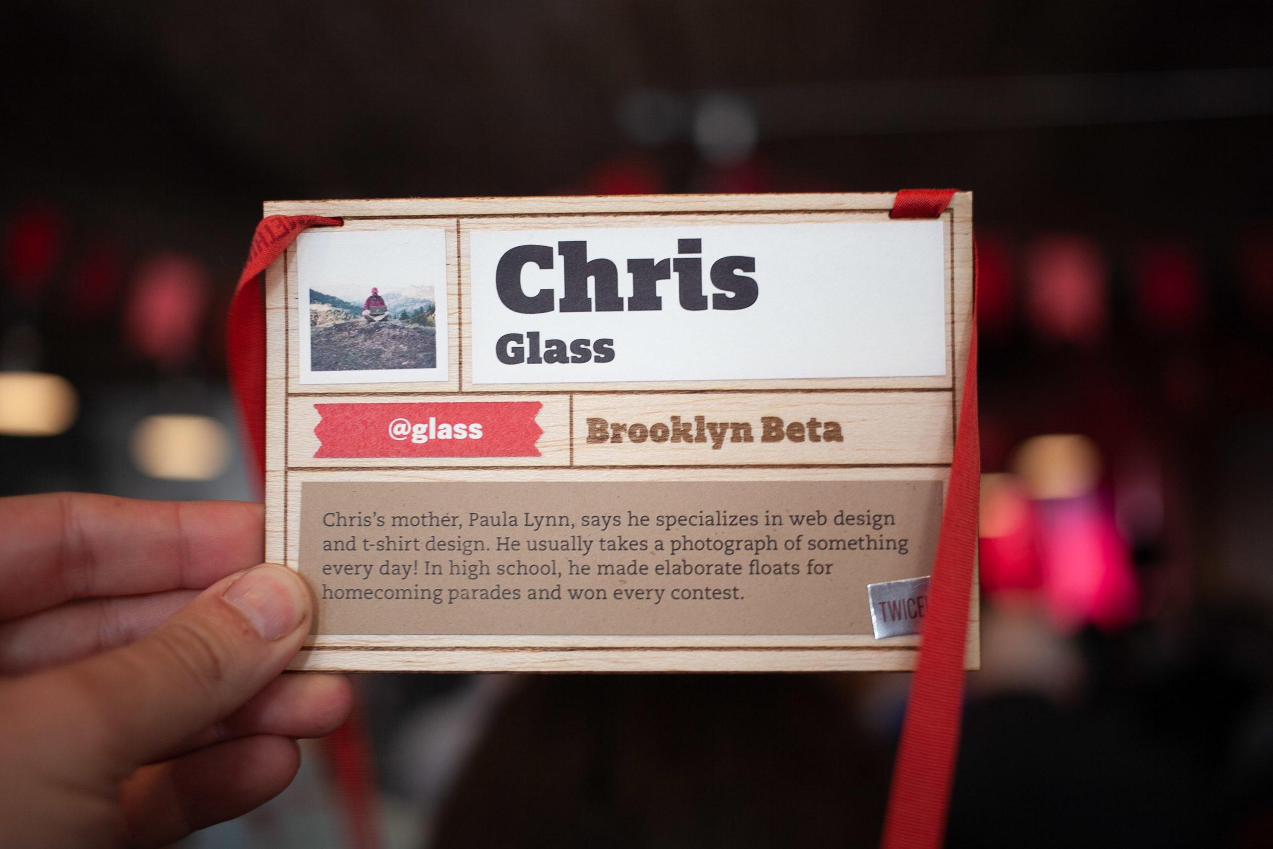 Brooklyn Beta lanyard 2012