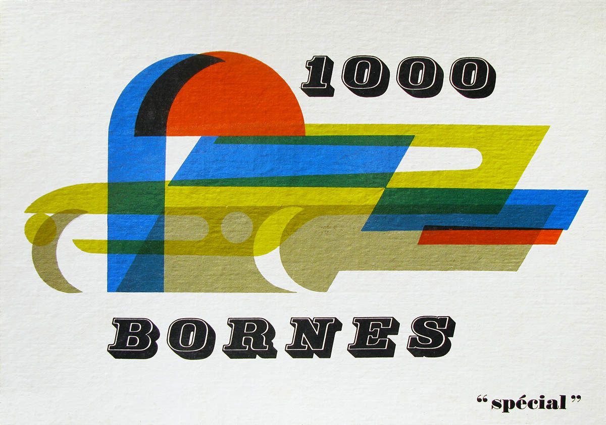 1960 Special Edition Mille Bornes box