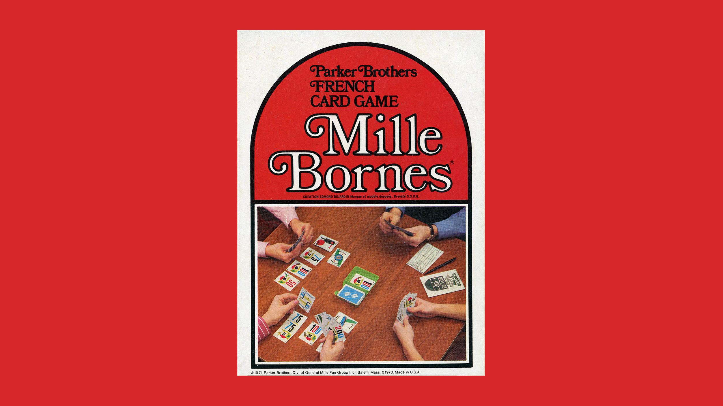 Mille Bornes box, image by Jim Hughes