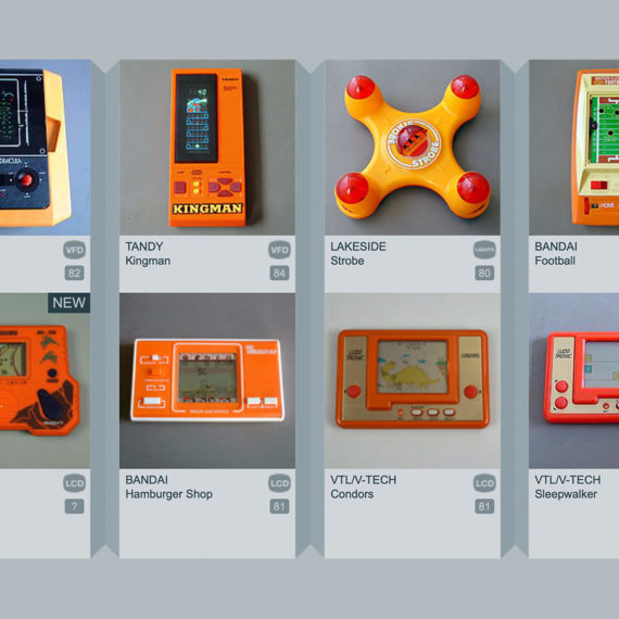 Electronic plastic games
