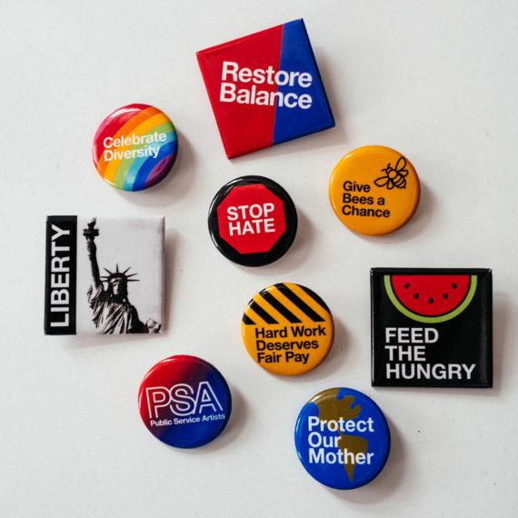 PSA buttons