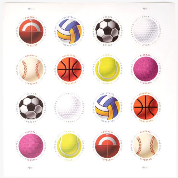 Ball stamps
