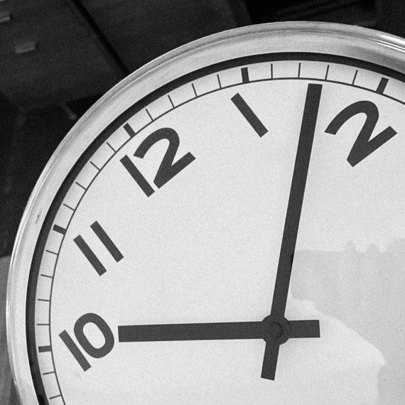 Adjusting the clock