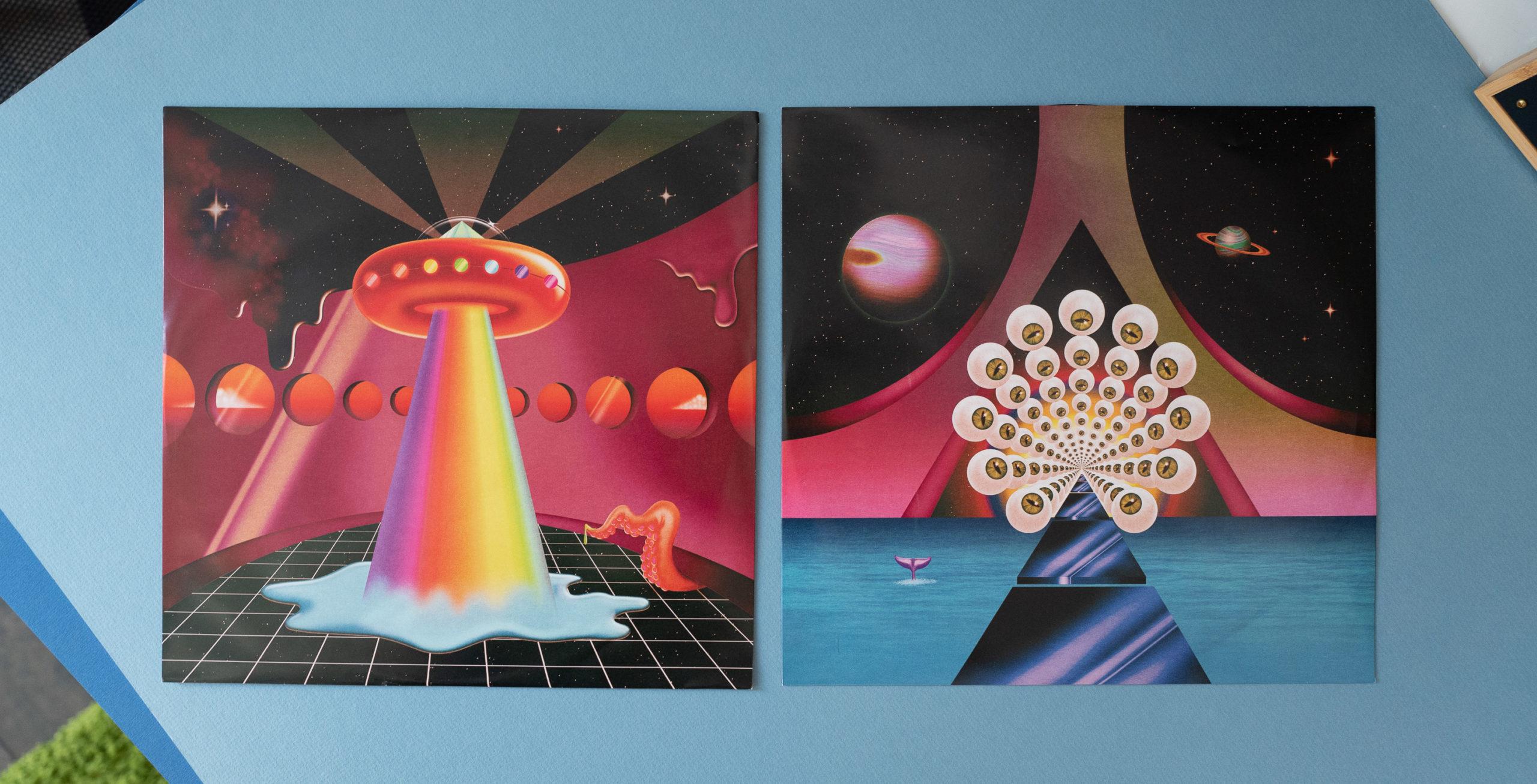 Interror designs for Kesha's Rainbow record