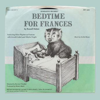 Bedtime for Francis, a Scholastic book and record