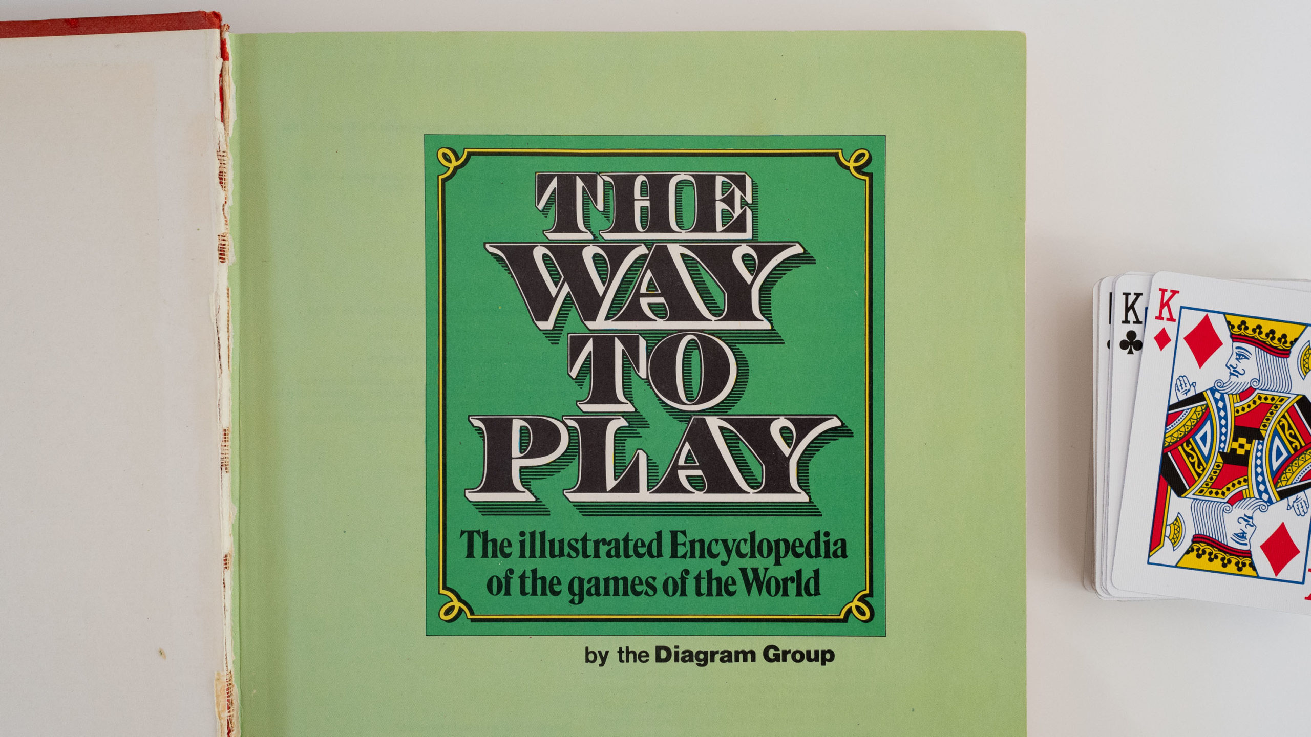 "Title page of a book ""The Way to Play"""