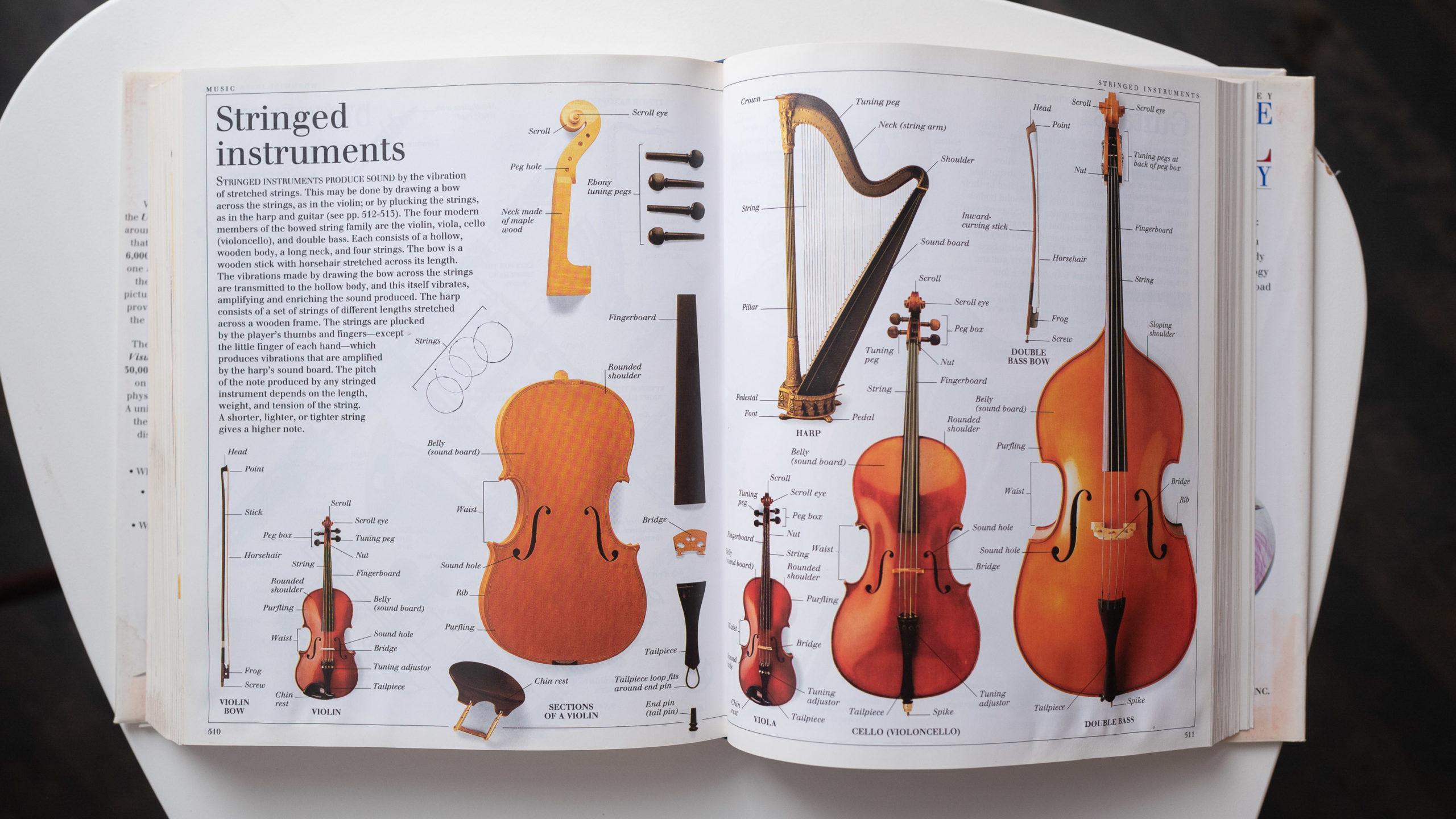 Instruments described in a book