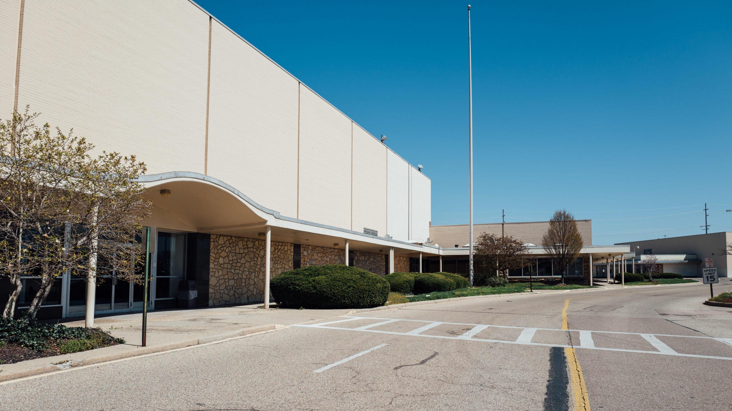 Empty Tri-County Ohio Sears building