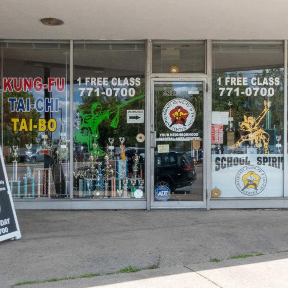 Karate storefront