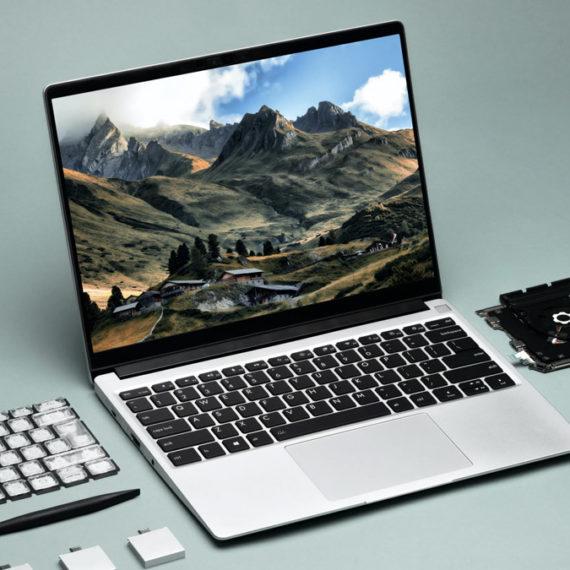 A modular laptop