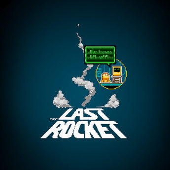 The Last Rocket 8 bit video game promo