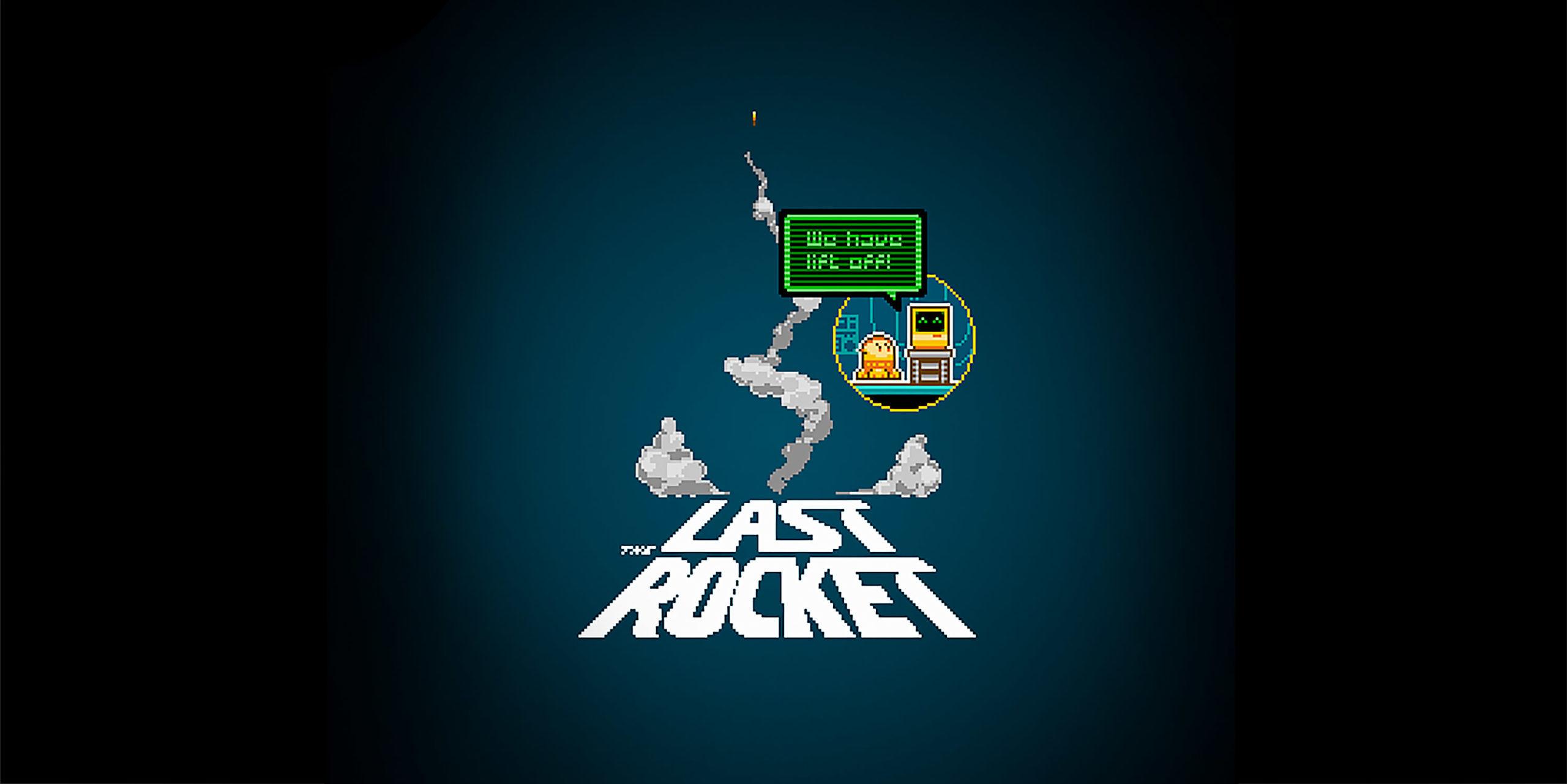 The Last Rocket 8 bit video game promo
